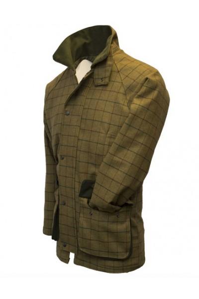 Manteau en tweed homme – Derby beige à carreaux