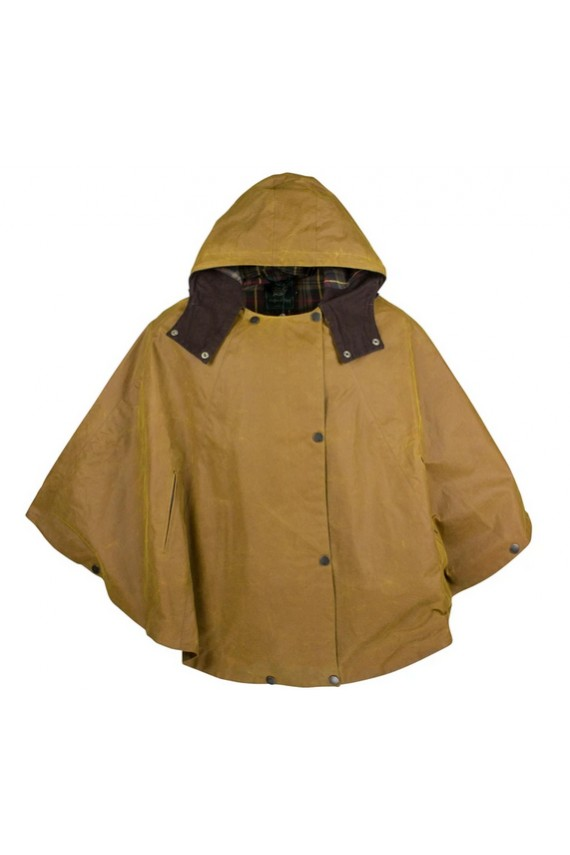 Cape huilée Hooded - Gold