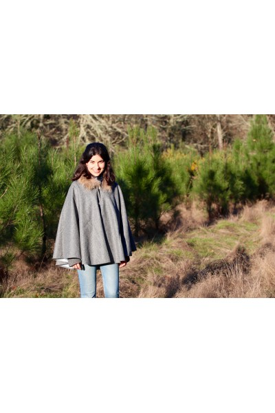 Cape Mahault - flannel grey unie