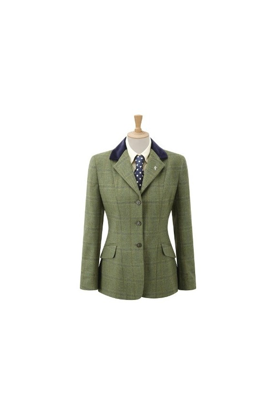 Veste anglaise Silverdale- Green check
