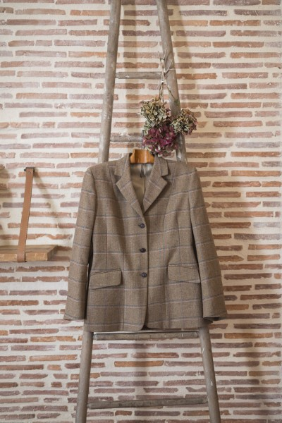 Veste anglaise femme- Light brown