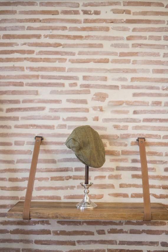 Casquette enfant - Tweed clair