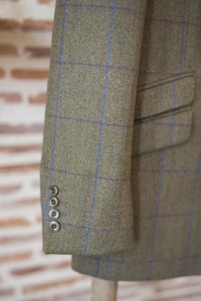 Veste en tweed homme