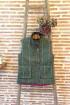 Gilet tweed rose femme