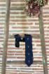 Cravate homme cerfs - Bleue