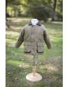 Manteau enfant en tweed - Vert clair