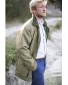 Manteau en tweed homme – Green forest
