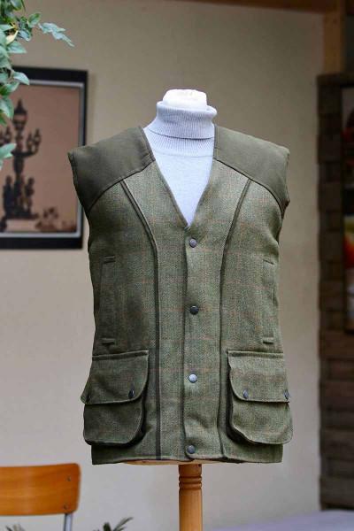 Gilet tweed pour homme ou femme
