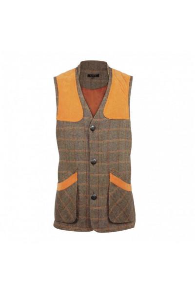 Gilet de tir en tweed - Homme