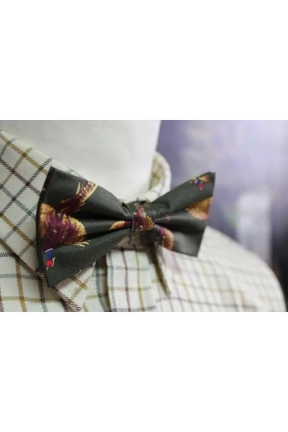 Noeud papillon rouge bordeaux 100% soie