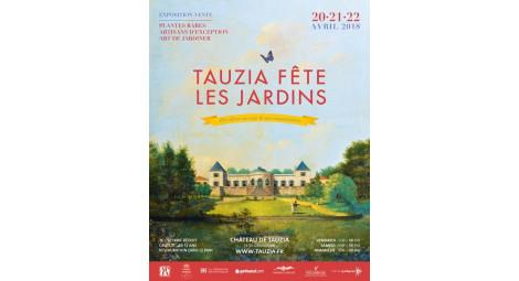 Tauzia fête les jardins 20/21 et 22 avril 2018