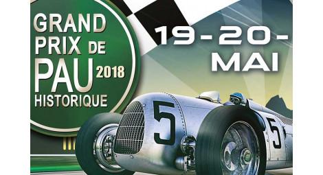 19 et 20 mai 2018 GRAND PRIX historique DE PAU