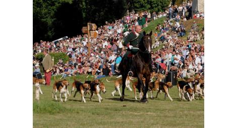 26 août 2018 - Fête de la chasse et de la nature au château de Montpoupon.