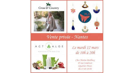 VENTE PRIVEE - Nantes 12 mars 2019
